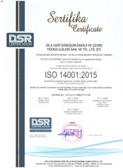 ISO14001-Sertifikası