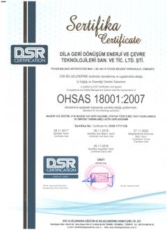 ISO18001-Sertifikası