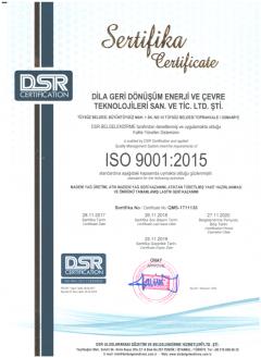 ISO9001-Sertifikası